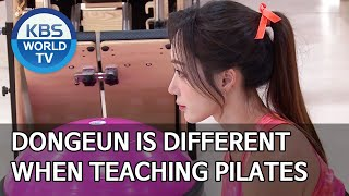Dongeun is different when teaching pilates [Boss in the Mirror/ENG, IND, CHN/2020.04.30]