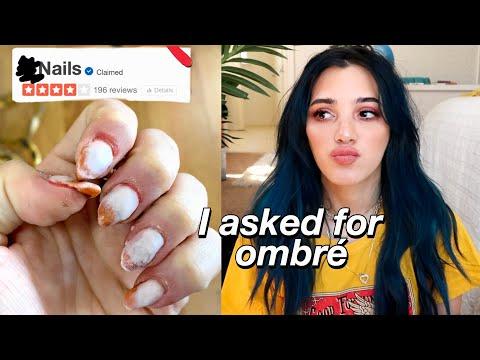 my nail salon *HORROR* story w/ live footage - I GOT INJURED