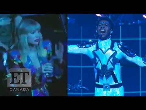 Taylor Swift Reacts To Lil Nas X's VMAs Performance
