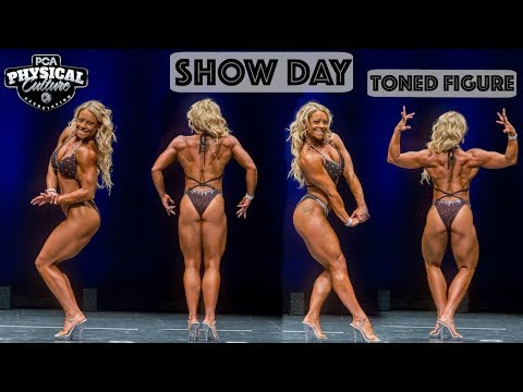 SHOW DAY | MY FIRST TONED FIGURE COMPETITION | PCA JERSEY