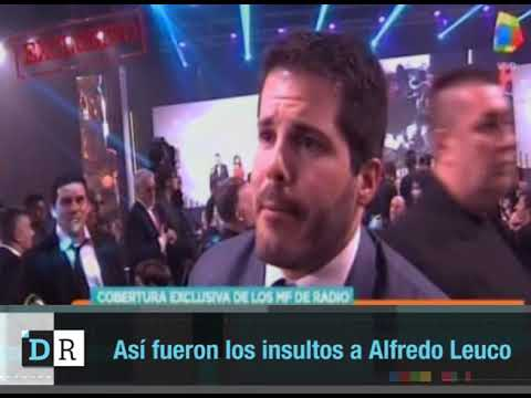 Así fueron los insultos a Alfredo Leuco