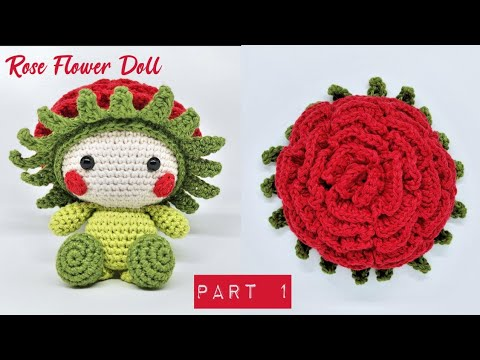 Flower Gal | Free Crochet Pattern - Tiny Curl Crochet | 360x480