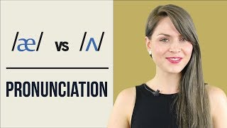 /æ/ and /ʌ/ | Learn English Pronunciation | Minimal Pairs