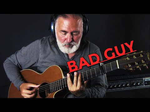 Billie Eilish - Bad Guy | Fingerstyle Guitar Cover