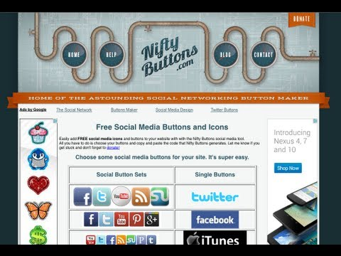How to Add Social Media Icons to Any Website - No Coding Needed