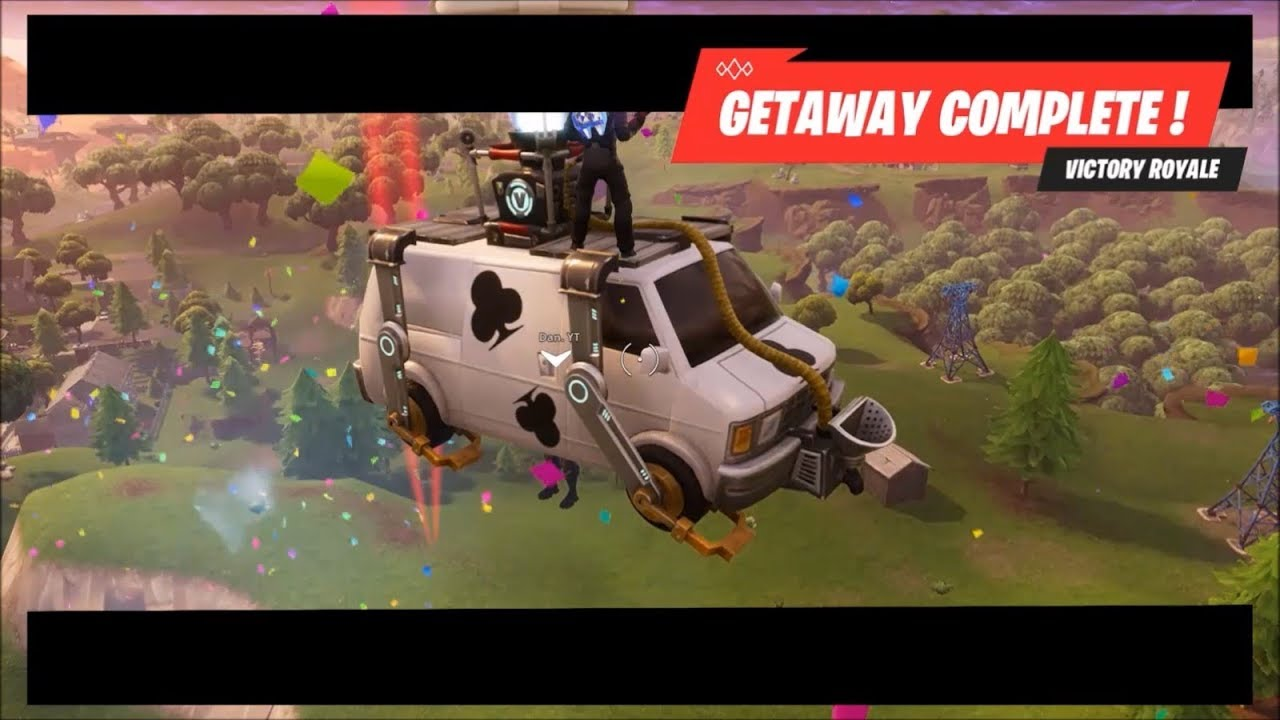 I Fell Out Of The Getaway Van Fortnite Battle Royale