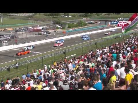 WTCC 2012 Round 10 Hungary Full Race HD English
