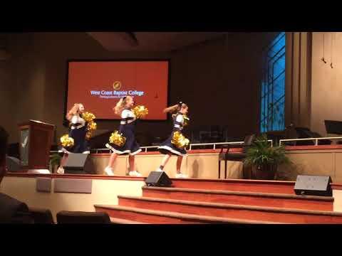 Oct 18, 2017 Lancaster Baptist School cheerleaders