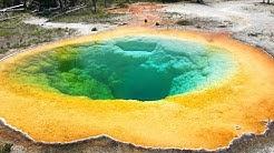 Upper Geyser Basin with Old Faithful | Yellowstone National Park