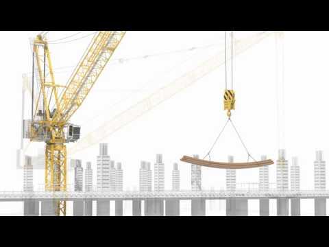 Liebherr Luffing Jib Cranes - Horizontal load movement