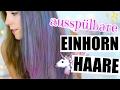 Das Einhorn Haare Experiment! 100 SCHICHTEN HAARFARBE ♡ BarbieLovesLipsticks