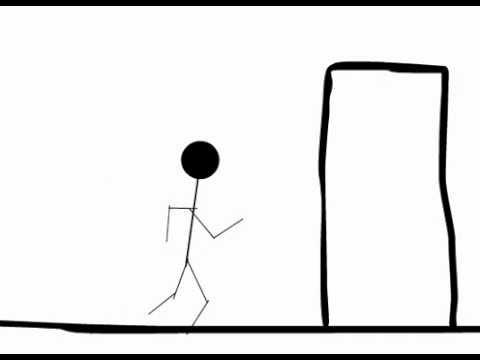 how to make a stick figure walk
