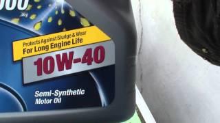 видео Полусинтетическое моторное масло 10w 40