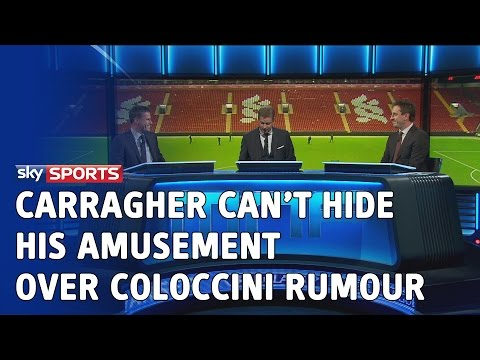 Jamie Carragher can't hide his amusement after Fabricio Coloccini is linked to the Newcastle job