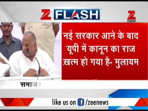Govt failed to fulfill any of its promises in 3 years of reign: Mulayam Singh