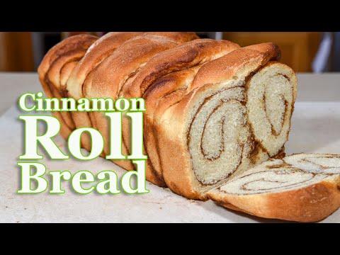 Homemade Cinnamon Roll Bread