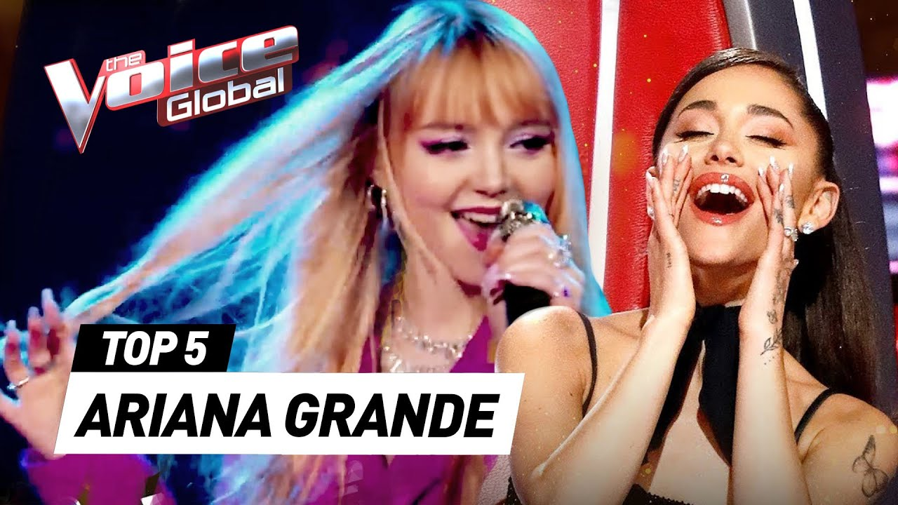 Download ARIANA GRANDE songs in The Voice