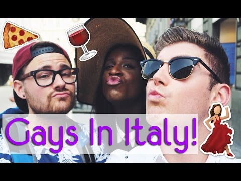 The Gays Take Over Italy! #DTour