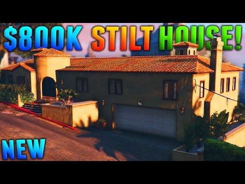 GTA Online: MOST EXPENSIVE STILT HOUSE - 800k Stilt Apartment Showcase! (GTA 5 DLC)