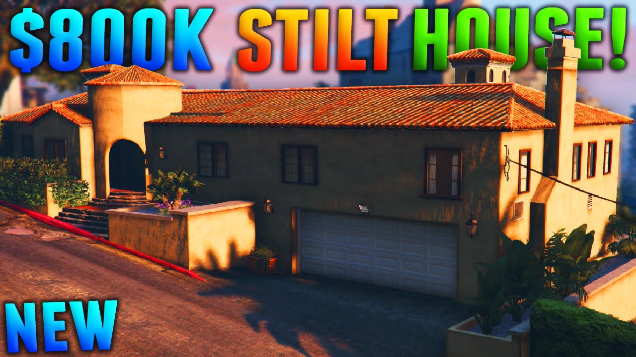 Gta Online Most Expensive Stilt House 800k Stilt Apartment Showcase Gta 5 Dlc Youtube