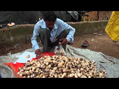 Mushrooms on sale, Bhubaneswar