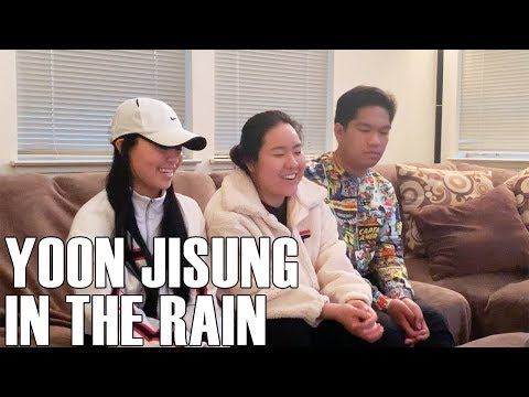 Free Download Yoon Jisung (윤지성)  - In The Rain (reaction Video) Mp3 dan Mp4