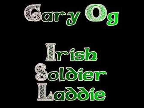 Irish Soldier Laddie - Gary Og