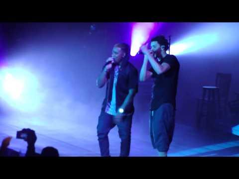 J. Cole & Jeremih - Planes live @ Forest Hills Drive Tour, San Francisco [HD]