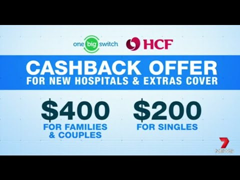 One Big Switch Health Insurance Offer Launch on 7News Sydney 030416
