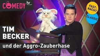 Bauchredner Tim Becker und der Aggro-Hase Karl K. Ninchen