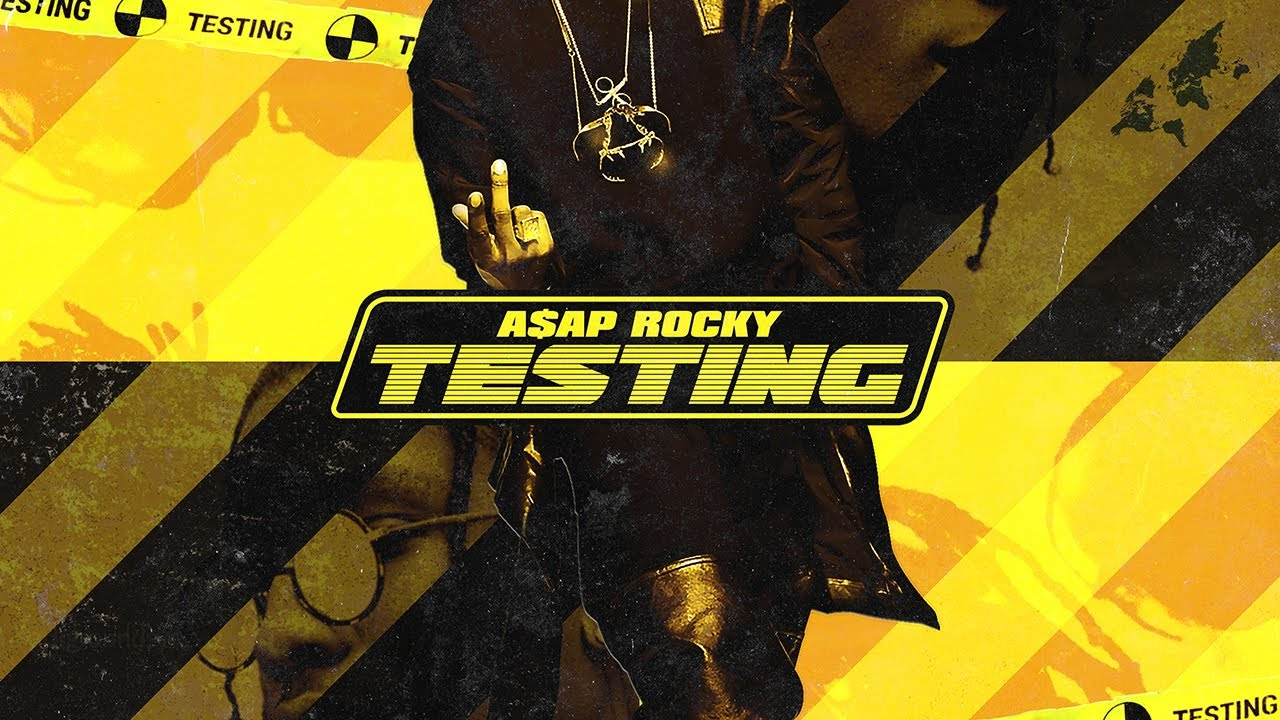 Photoshop Album Cover | Asap Rocky: Testing [Design BreakDown]