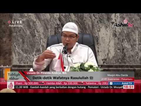Detik-detik Wafatnya Rasulullah ﷺ (sesi I)