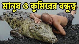 প্রাণী ও মানুষের বিস্ময়কর ভালোবাসার গল্প | Unbelievable Cases Of Human-Animal Friendship - FactsBD