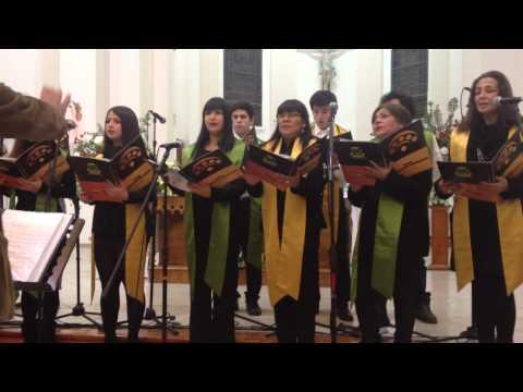 Coro Polifonico Municipal Curico - Bella Que Tienes Mi Alma (Iglesia La Merced)