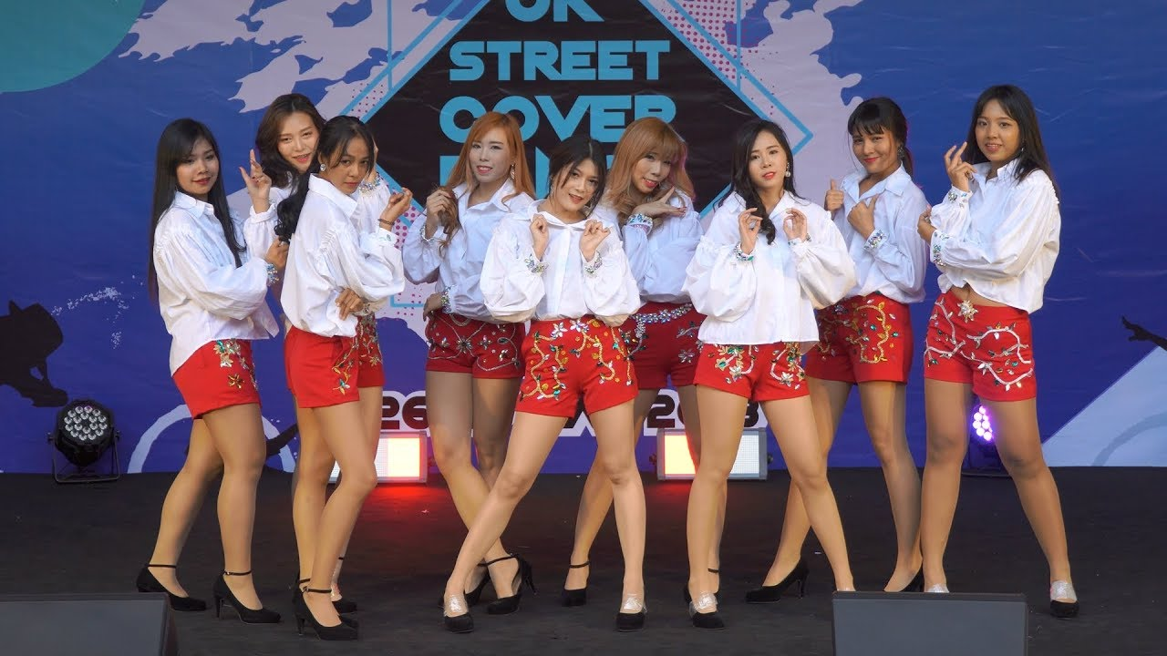 180526 Girls9 cover Girls' Generation - Genie + Mr Mr  @ JK Street Cover  Dance 2018