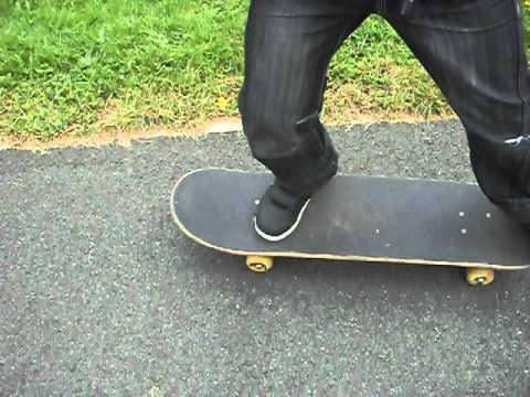 How To Do A Really Simple Jump On A Skateboard!