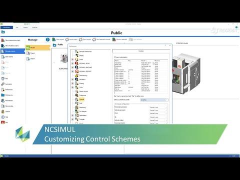 Customizing Control Scheme In NCSIMUL | Tutorial