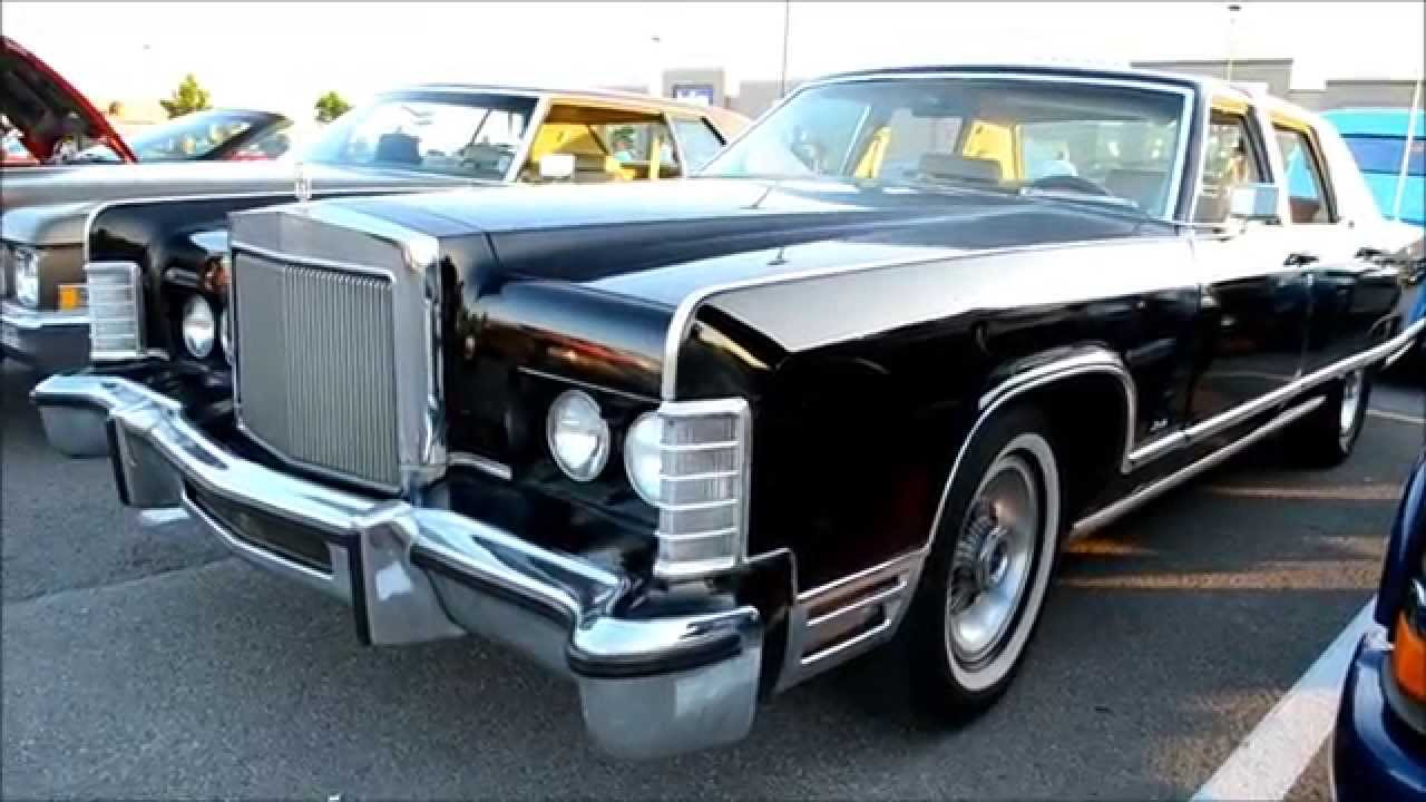 1977 Lincoln Continental Town Car With 460 Start Up Youtube