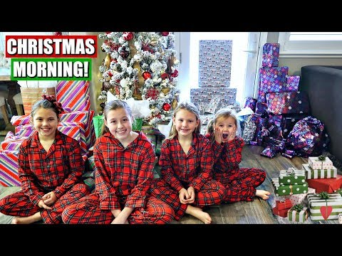 CHRISTMAS MORNING SPECIAL 2017 OPENING PRESENTS ENDS IN TEARS | PART 1