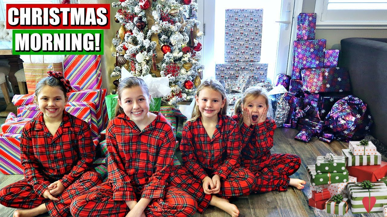 CHRISTMAS MORNING OPENING PRESENTS ENDS IN TEARS - YouTube