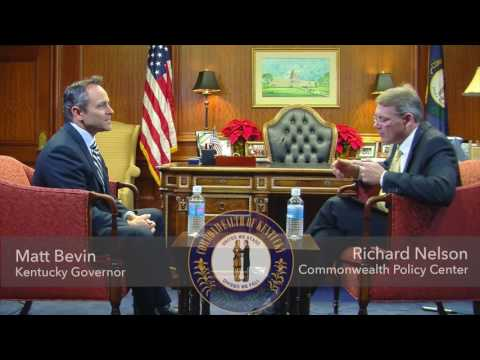 Governor Matt Bevin Reviews his First Year in Office