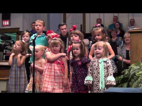First Baptist Church Preschool Choir