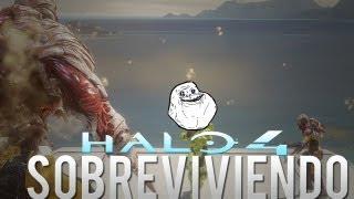 Halo 4 - Zombie/Humano? sobreviviendo al Modo Flood