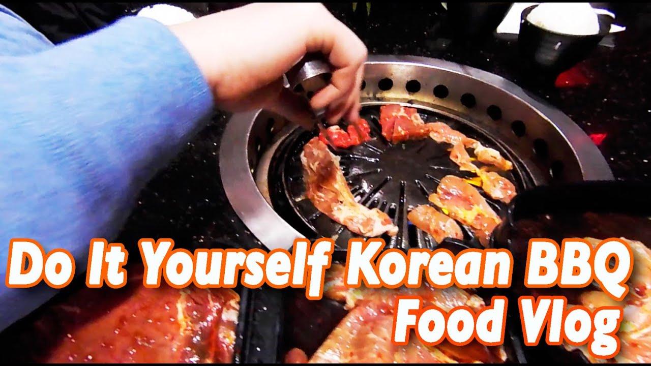 all you can eat diy korean bbq toronto food vlog. Black Bedroom Furniture Sets. Home Design Ideas