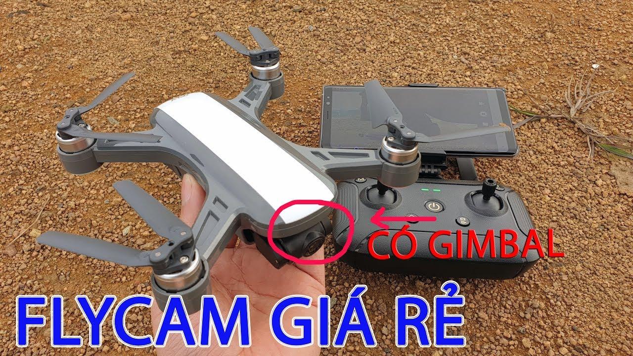 Trên Tay C-fly Dream – Flycam rẻ nhất có Gimbal – Đối thủ của DJI Spark