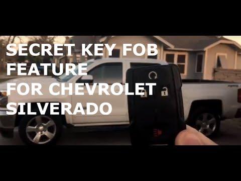 14 18 Secret Chevy Silverado Roll Windows Down With Key Fob Youtube