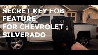 14-18 Secret Chevy Silverado Roll Windows Down with Key Fob