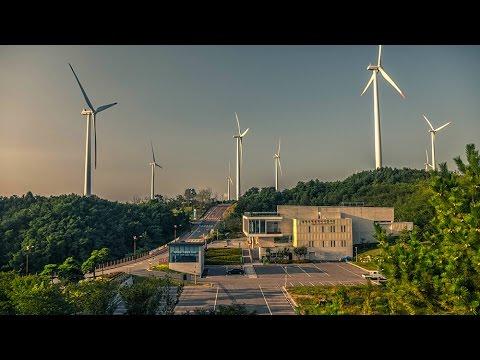 Yeongdeok -Sunrise park, Wind Power Generator Plant with Panasonic GX8