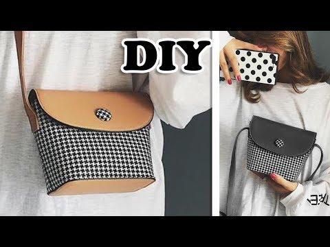 FANTASTIC DIY HIT COLOR PURSE BAG //  Mini Crossbody Bag Tutorial Fast Making