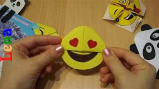 Smiley Lesezeichen basteln DIY